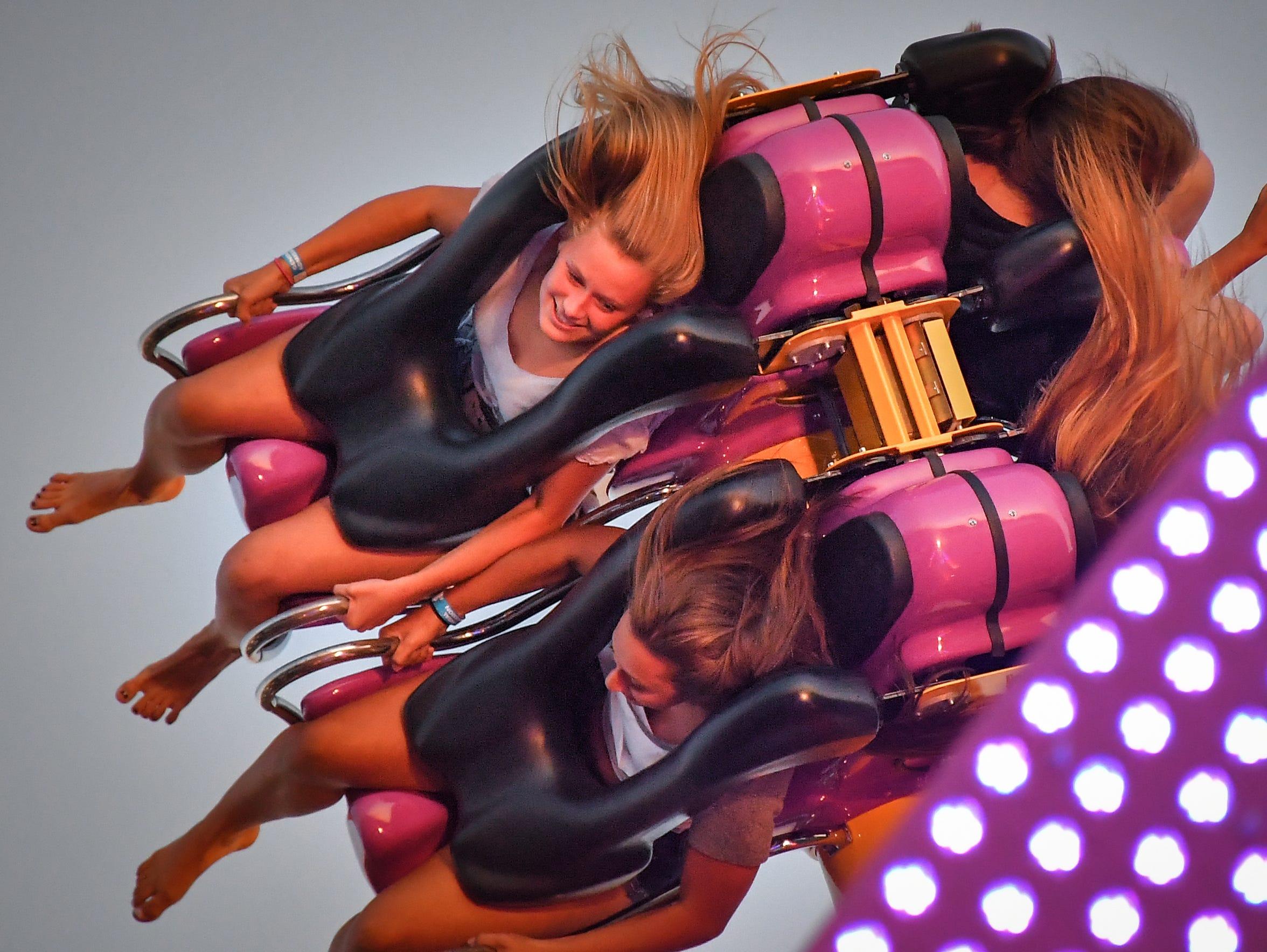 Riders had a hair raising experience on the Air Maxx