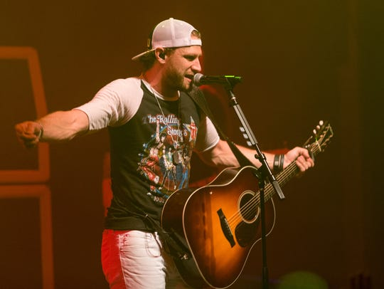 Country singer Chase Rice will perform at the 2016