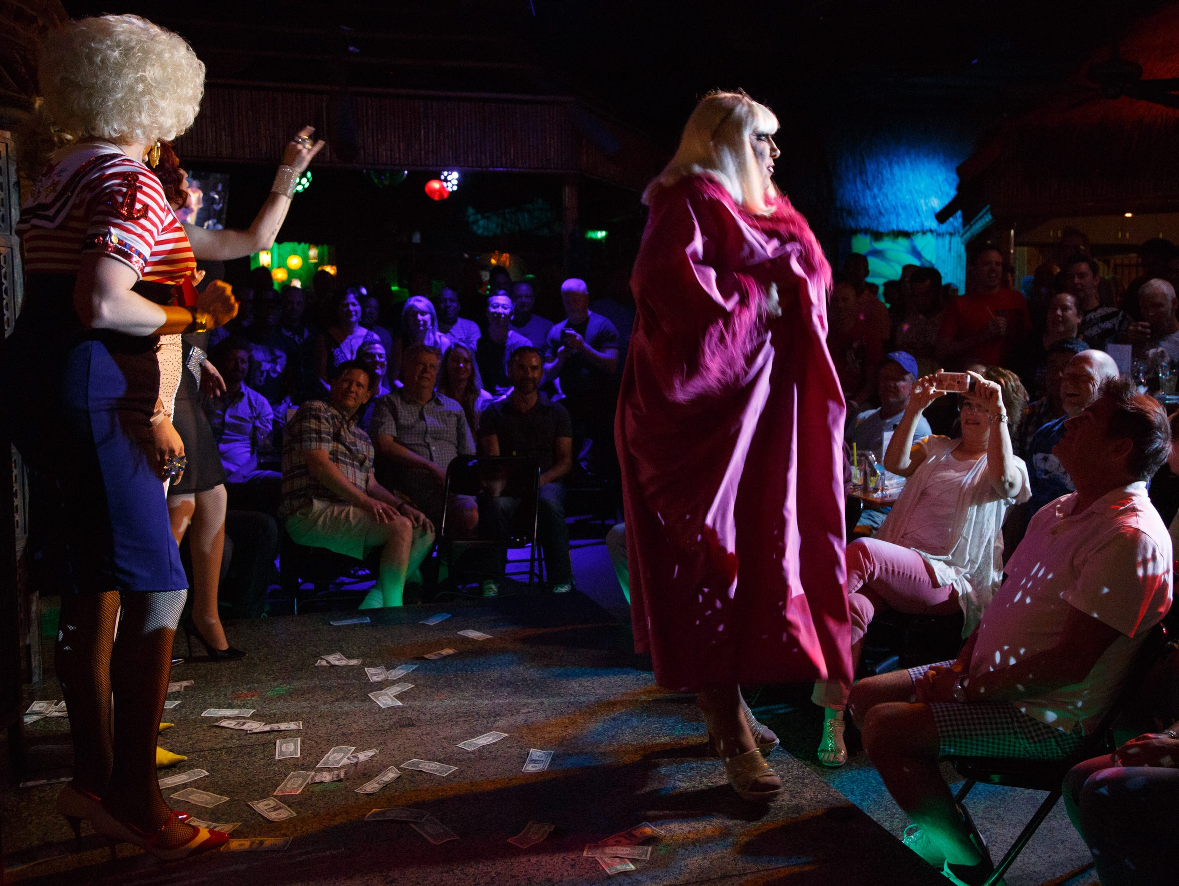 Tommi Rose and The Playgirls perform at Toucans Tiki
