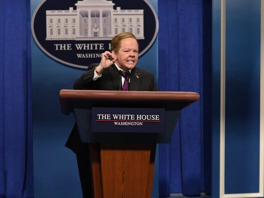 Melissa McCarthy has portrayed White House Press Secretary