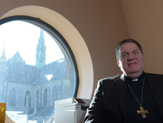 Interview with Cardinal Joseph W. Tobin 2 p.m. at the