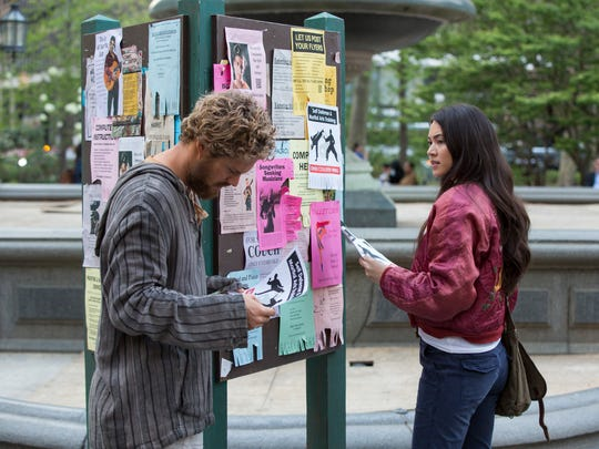 Colleen Wing (right, Jessica Henwick) meets Danny Rand