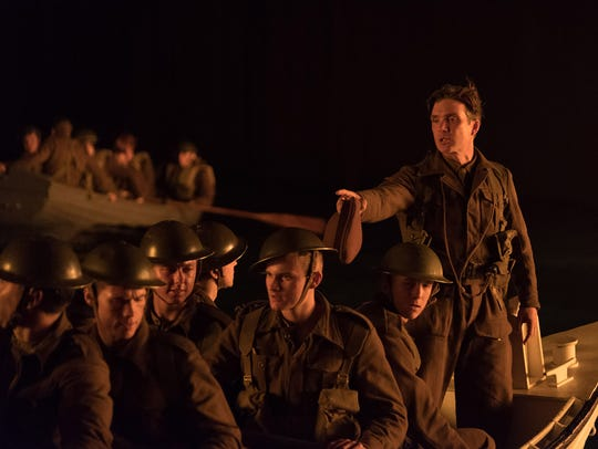 Cillian Murphy (far right) oversees a group of Allied