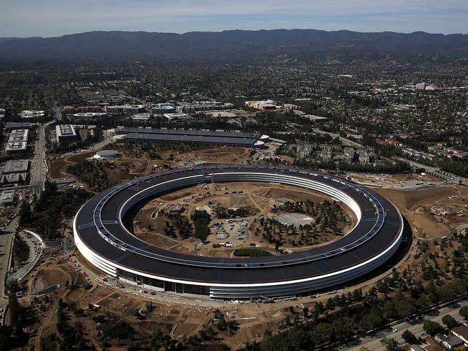 Apple Amazon Google Build Futuristic Campuses As Business Booms