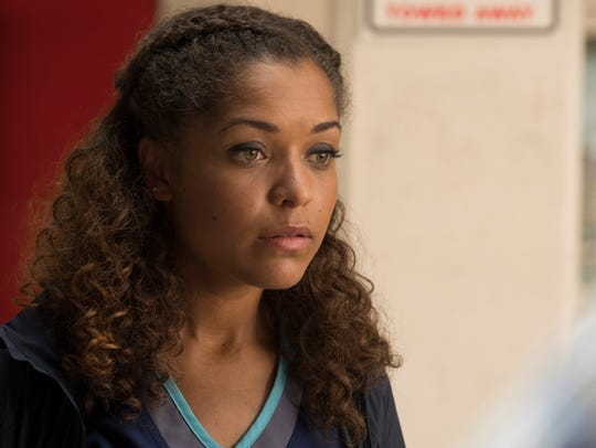 Antonia Thomas stars as Dr. Claire Brown on 'The Good