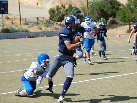 Virginia City beat Loyalton (Calif.), 53-0, to open the season.