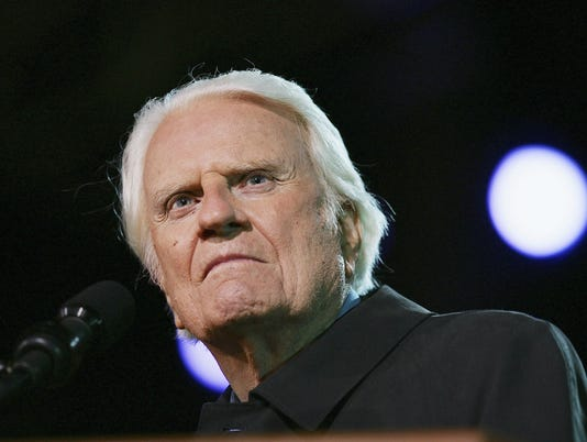 GTY BILLY GRAHAM CONTINUES CRUSADE AT 86 A REL USA CA