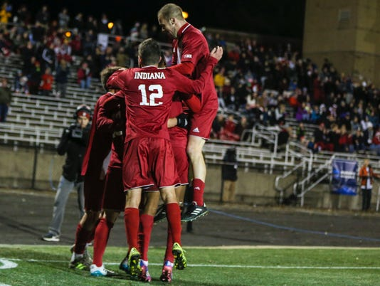 BLOOMINGTON, IN - 2017.11.25 Men's Soccer vs. New Hampshire