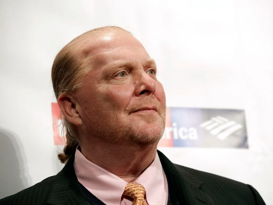Chef Mario Batali stepped down from his company after being accused of sexual harassment.