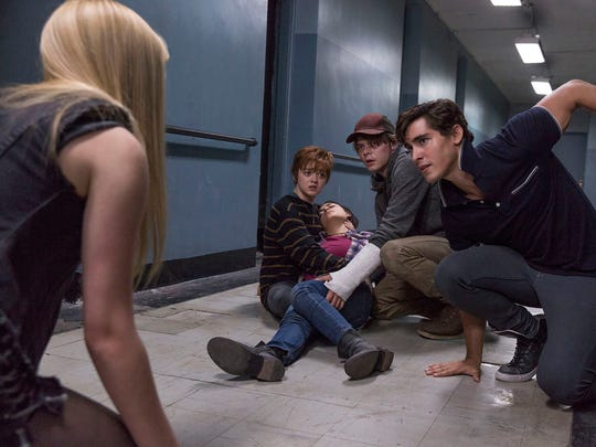 "Bob McLeod was illustrator and co-creator of ""The New Mutants,"" a Marvel comic-book series set to be released as a new movie in 2020. In this publicity photo, the characters Magik (Anya Taylor-Joy), Wolfsbane (Maisie Williams), Cannonball (Charlie Heaton) and Sunspot (Henry Zaga) come to the aid of Mirage (Blu Hunt, on the floor)."