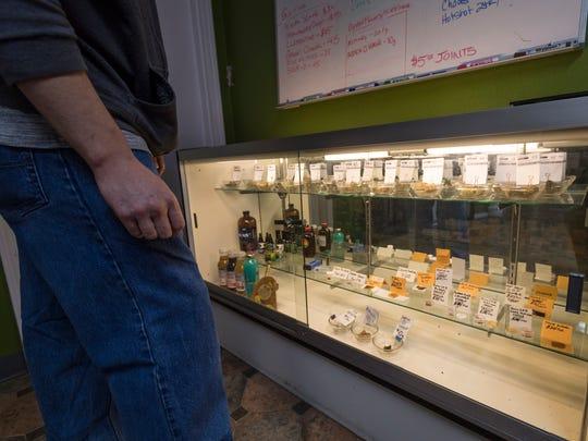 Medical marijuana at Canna Can Help Inc. on Thursday,