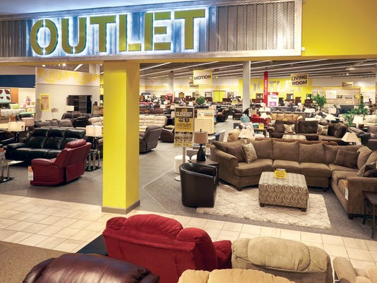 art van furniture turning clearance centers into outlets