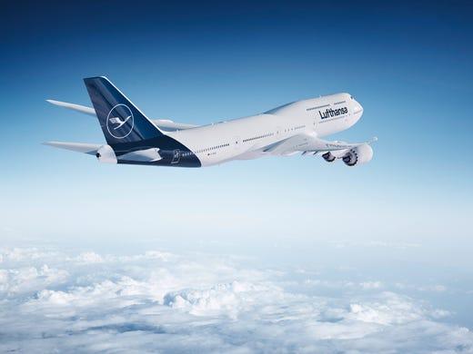 9241fda12246 Lufthansa unveils new aircraft paint scheme  mixed reviews