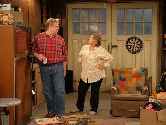 Roseanne Barr is returning along with John Goodman