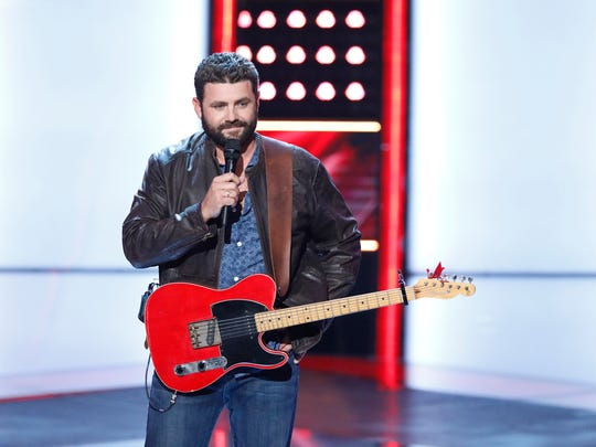 """THE VOICE -- """"Blind Auditions"""" -- Pictured: Pryor Baird -- (Photo by: Tyler Golden/NBC)"""