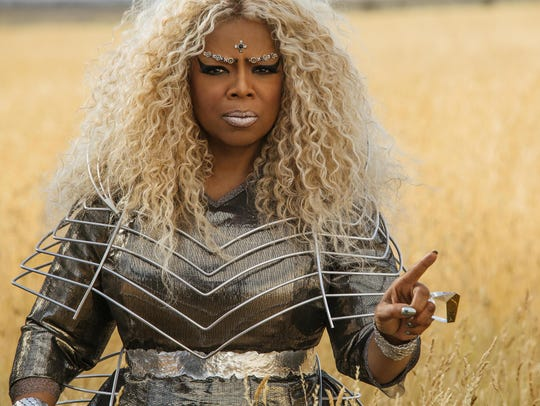 Oprah Winfrey is the kind Mrs. Which in Ava DuVernay's