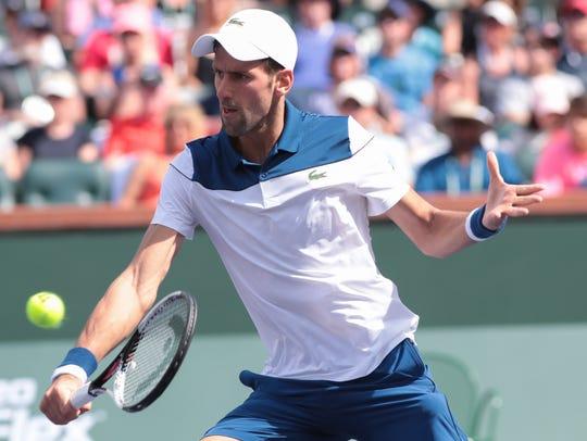 Novak Djokovic is upset by Taro Daniel at the BNP Paribas