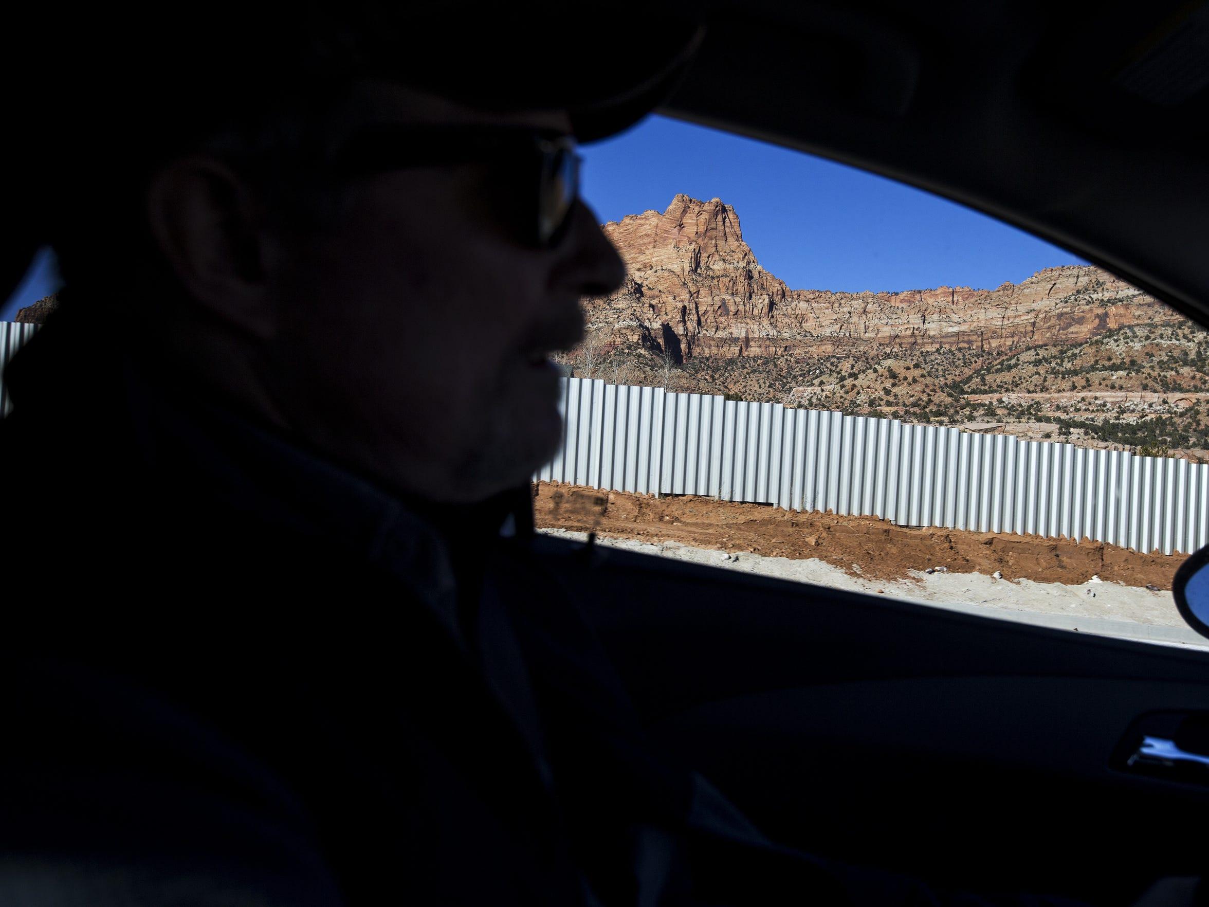 Sam Brower, a private investigator, drives in Short