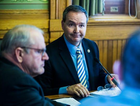 Iowa state senator, Jeff Danielson, D-Waterloo