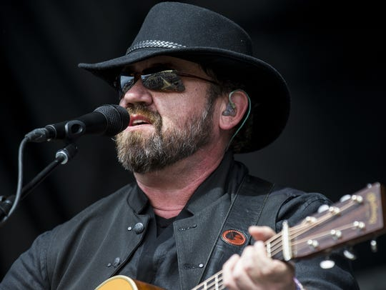 Tyminski performs during the Innings Festival on Sunday,