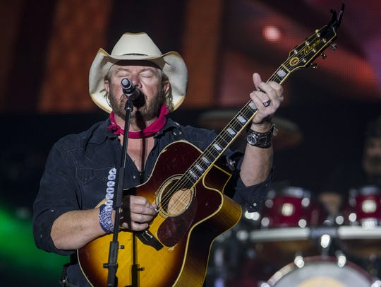 Toby Keith performs during Country Thunder Arizona