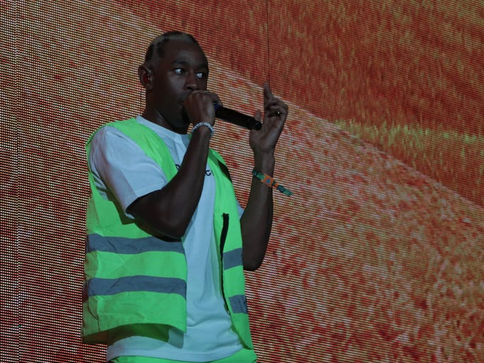 Tyler, the Creator performs at the Coachella Valley