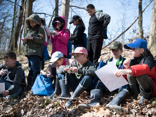 Students last spring from Worthington Elementary learned how to use and incorporate cameras to discover more about nature and the native plants and animals from the area.  The Muddy Boots and Backpacks program is among the cooperative ventures between local schools and the Ross County Park District. The park district, following a levy defeat earlier this month, includes some cuts to programming for children within its 2019 budget in order to work within available resources.