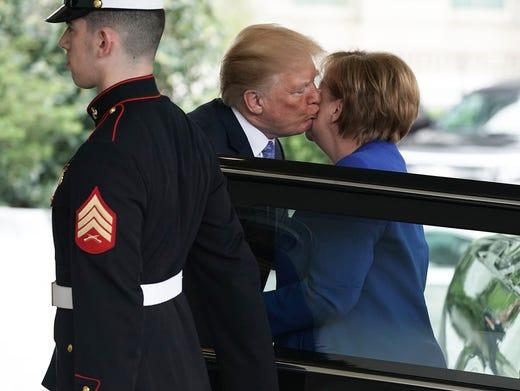 German Chancellor Angela Merkel S Plane Makes Emergency Landing