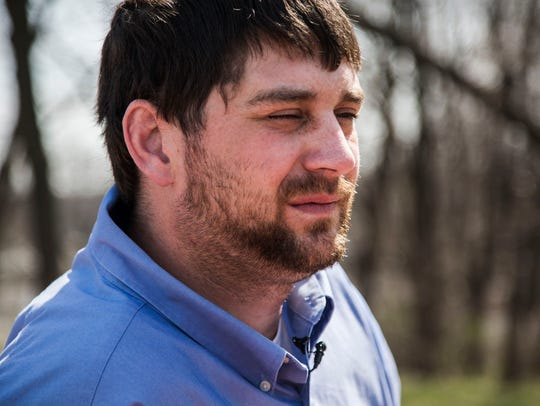 Matt Lane, 30, of West Des Moines has been taken as far away as Council Bluffs to be hospitalized for symptoms of schizophrenia.