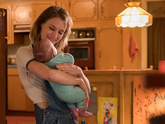 Mackenzie Davis is a night nanny whose presence immediately