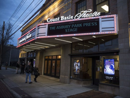 The Asbury Park Press Stage at the Count Basie Theatre