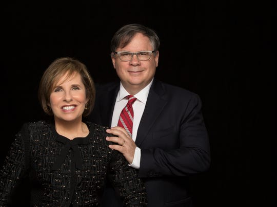 """Michelle and Robert King, the creators of CBS All Access's """"The Good Fight."""""""