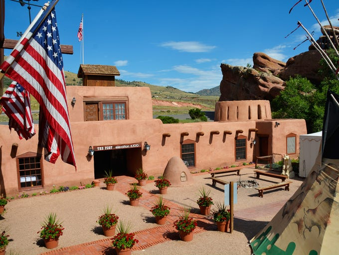 The Fort restaurant is a historically and architecturally