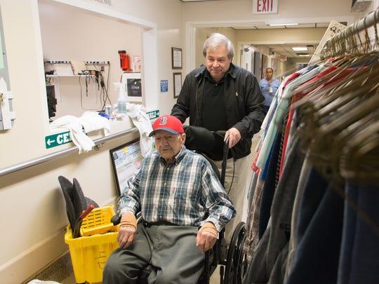 VA nursing home in Bedford, Mass.