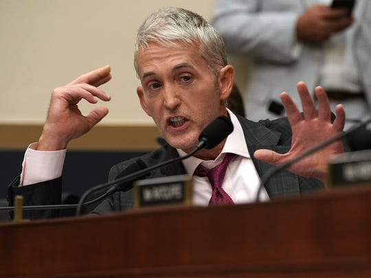 Rep. Trey Gowdy, R-S.C., speaks during a hearing before