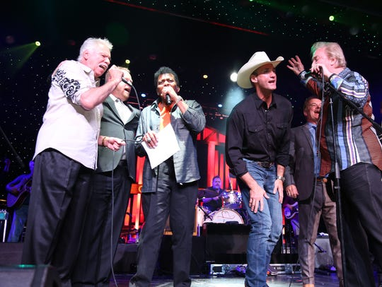 The Oak Ridge Boys, Charley Pride and other country