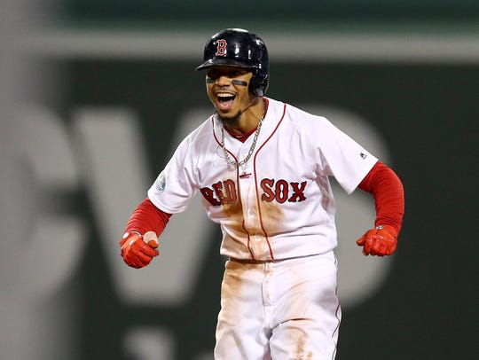 Nashville's Mookie Betts is a key cog in the Boston offensive machine.