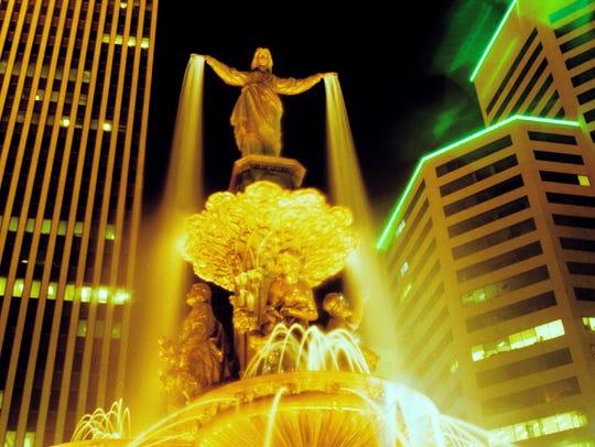 Fountain Square.