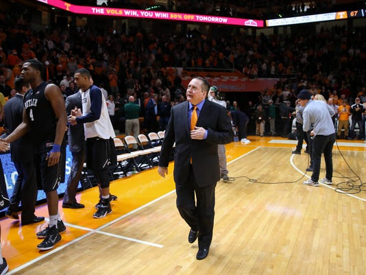 NCAA Basketball: Butler at Tennessee