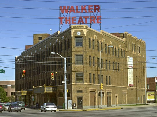 The Madame Walker Theatre Center stands on Indiana Avenue a National Register landmark built in the late 1920s as a tribute to Madame C.J. Walker the first black female millionaire.
