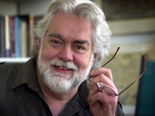 In this 2004, file photo, Gunnar Hansen poses at his