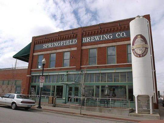 Springfield Brewing Company produced 2,200 barrels of beer in 2015.