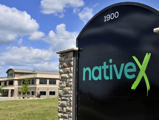 The NativeX building and sign, at 1900 Medical Arts