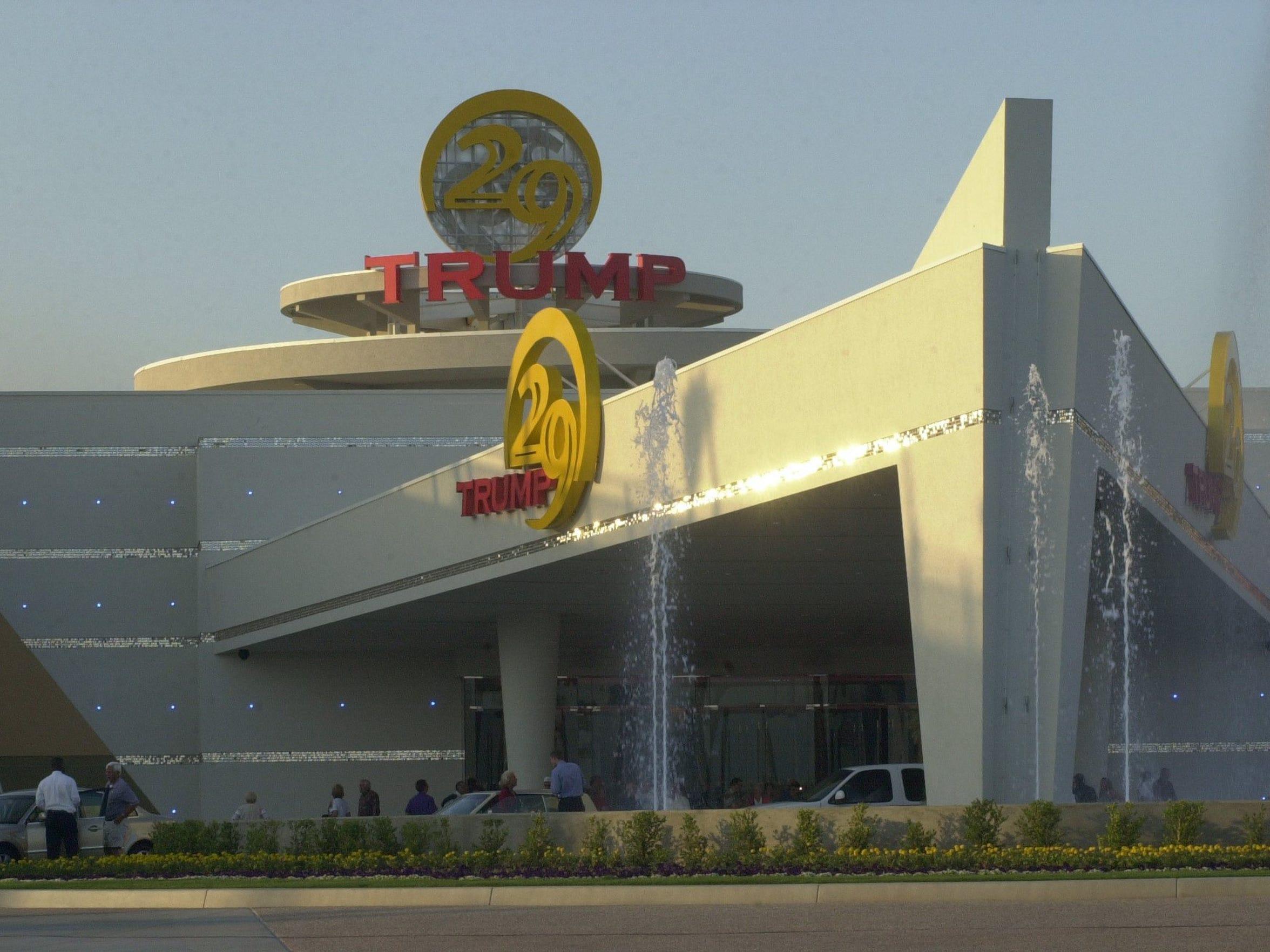 Trump 29 casino, circa 2002.