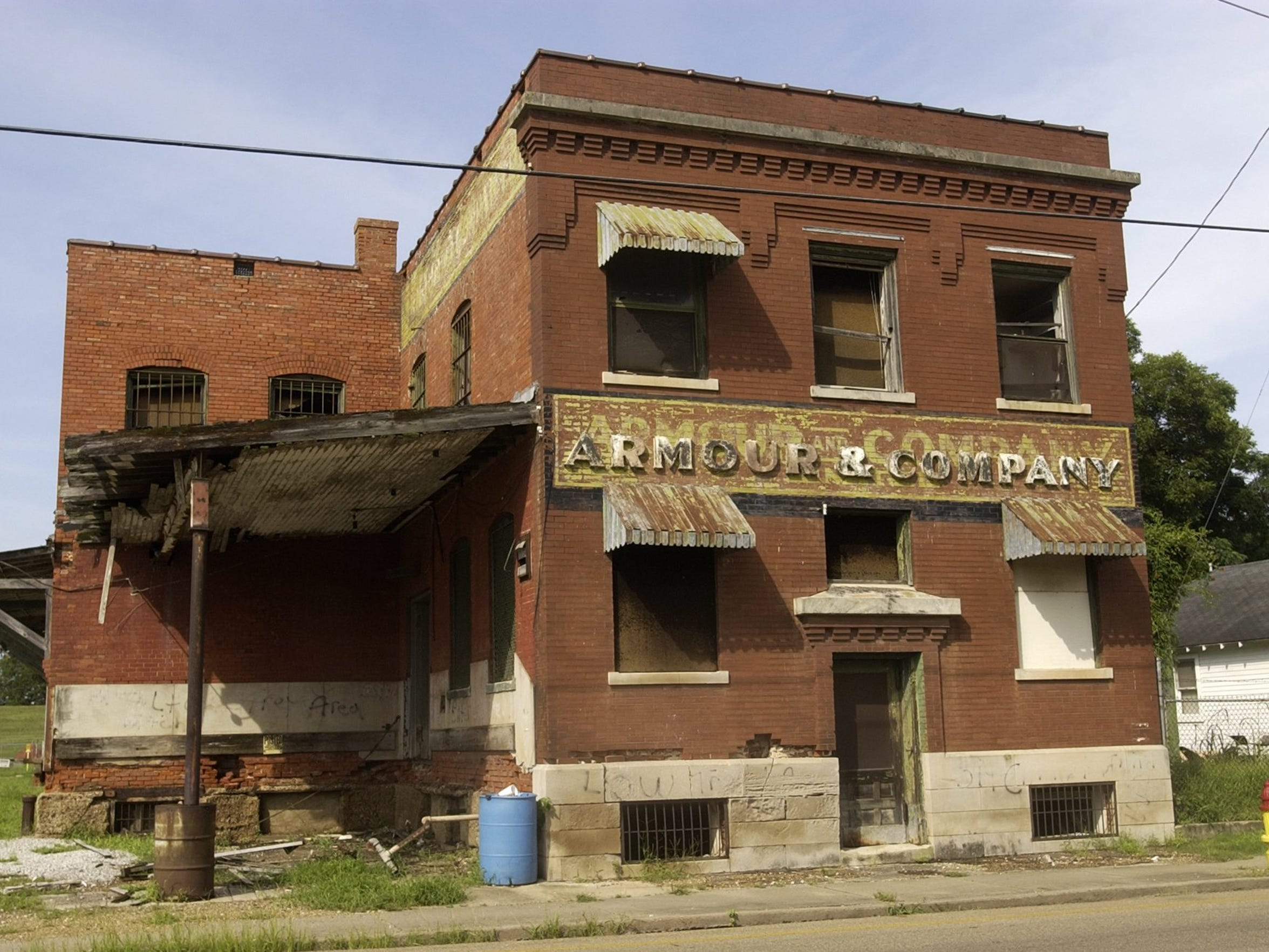 The Armour Building on 3rd Street in Alexandria was demolished in 2012.