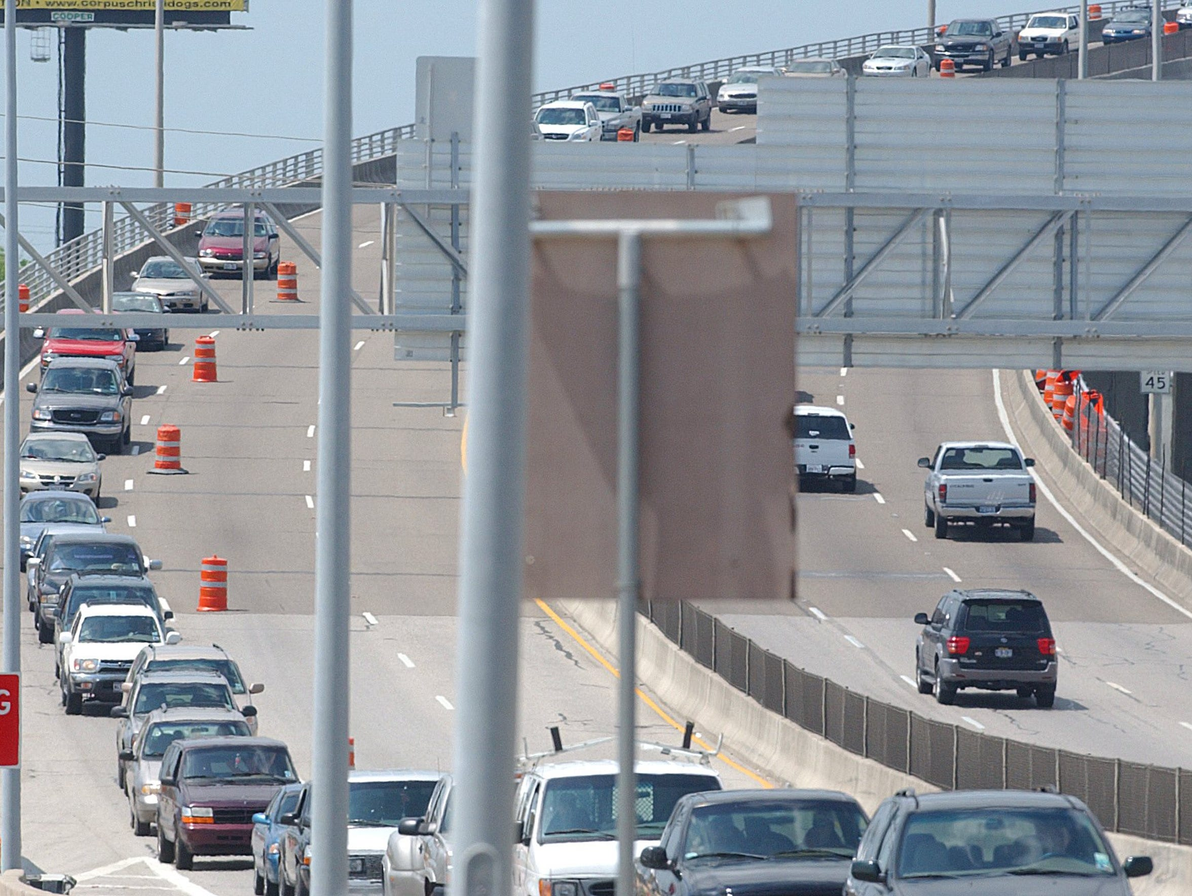 State transportation officials say the Harbor Bridge, built in the 1950s, needs to be replaced for safety reasons. It often gets clogged during peak travel times or when a crash occurs.
