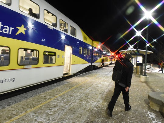 St. Cloud Times file photo of Northstar commuter rail.