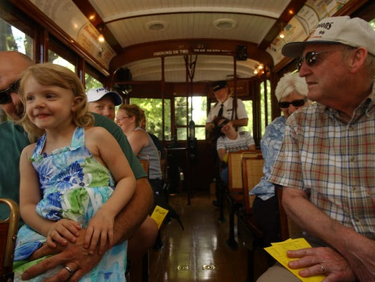 BIRNEY TROLLEY CAR 21