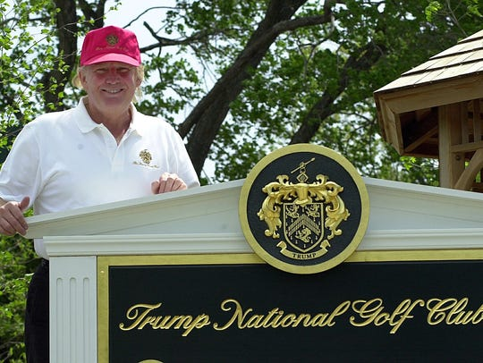 Donald Trump describes his vision for the Trump National