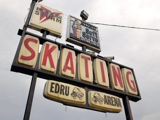 Edru Skate A Rama, 1891 Cedar St. in Holt, taken Jan. 10, 2004.